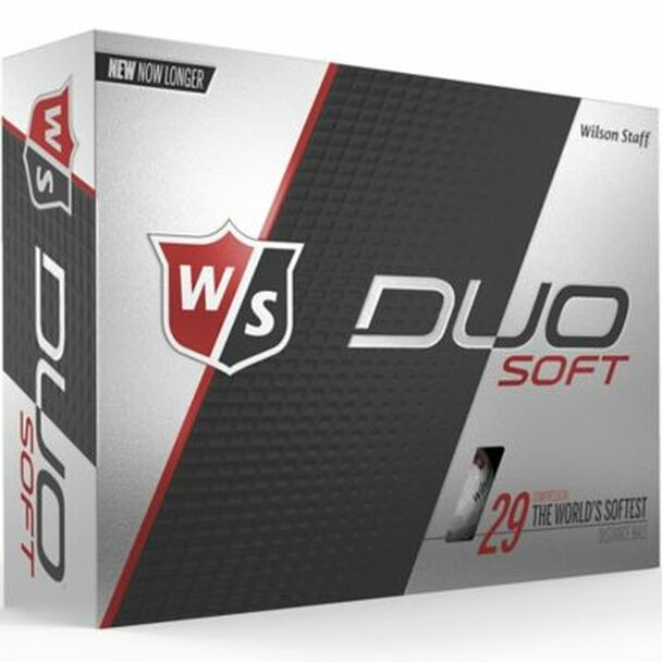 Staff Duo Soft Golf Balls - 1 Dozen-4036256