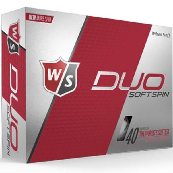 Staff Duo Soft Spin Golf Balls - 1 Dozen-4036257
