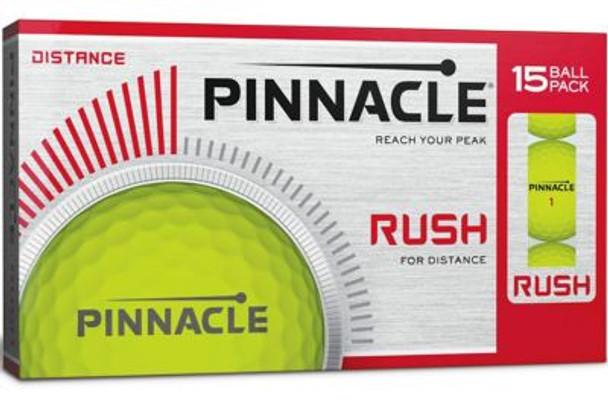 Rush Yellow Golf Balls - 15 Pack-4036279