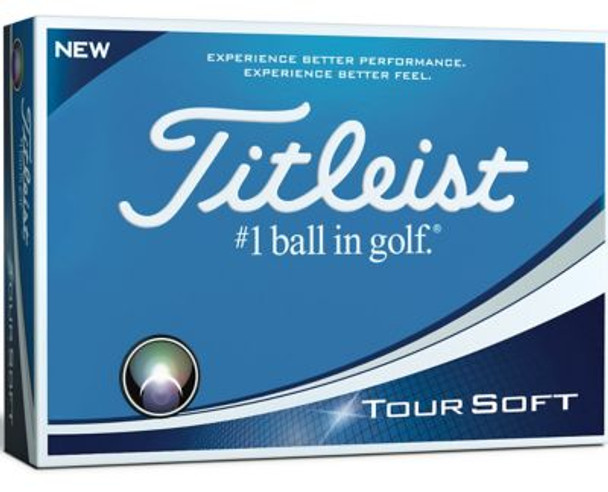 Tour Soft Golf Balls - 1 Dozen-4036283