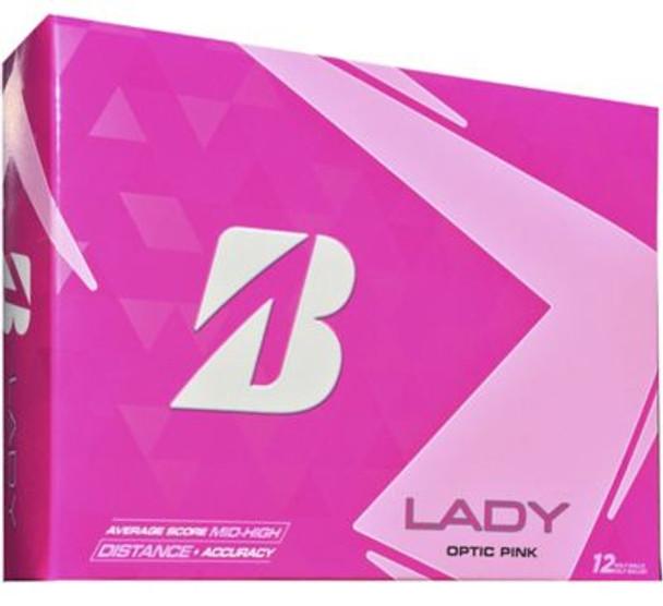 Lady Precept Pink Golf Balls - 1 Dozen-4036291
