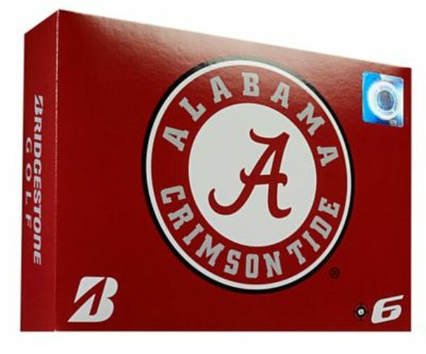 NCAA e6 Alabama Crimson Tide Golf Balls - 1 Dozen-4036292