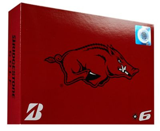 NCAA e6 Arkansas Razorbacks Golf Balls - 1 Dozen-4036293
