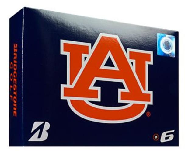 NCAA e6 Auburn Tigers Golf Balls - 1 Dozen-4036294