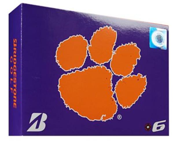 NCAA e6 Clemson Tigers Golf Balls - 1 Dozen-4036295