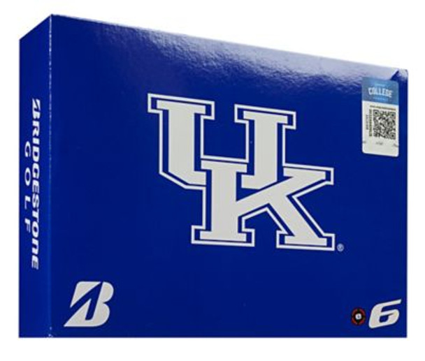 NCAA e6 Kentucky Wildcats Golf Balls - 1 Dozen-4036300