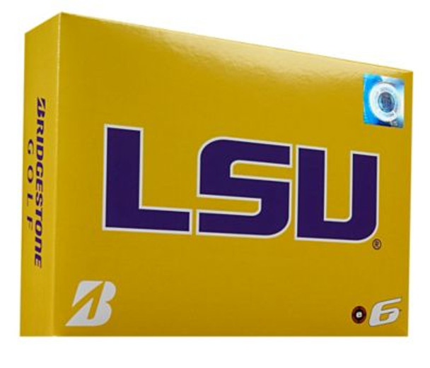 NCAA e6 LSU Tigers Golf Balls - 1 Dozen-4036301