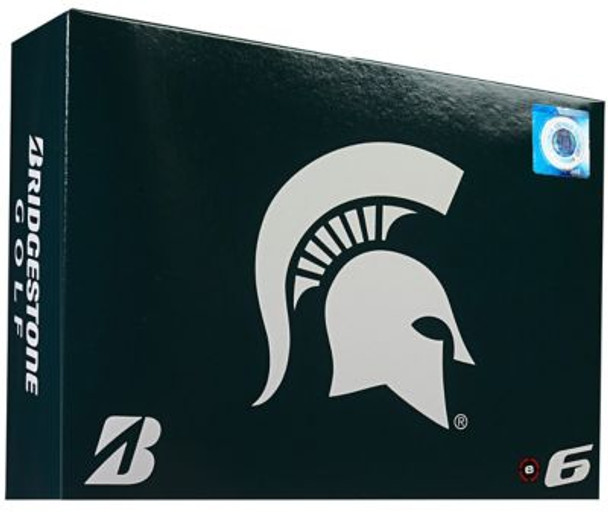 NCAA e6 Michigan State Spartans Golf Balls - 1 Dozen-4036302