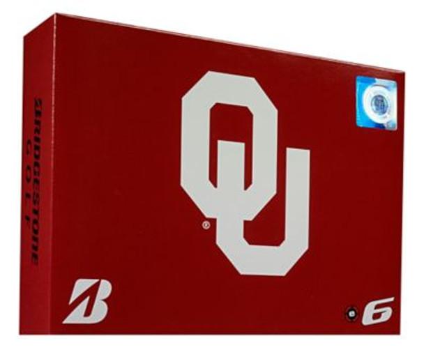 NCAA e6 Oklahoma Sooners Golf Balls - 1 Dozen-4036304