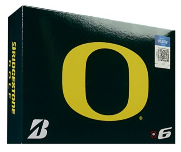 NCAA e6 Oregon Ducks Golf Balls - 1 Dozen-4036305