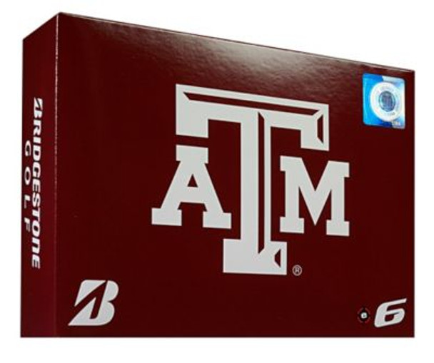 NCAA e6 Texas A&M Aggies Golf Balls - 1 Dozen-4036307