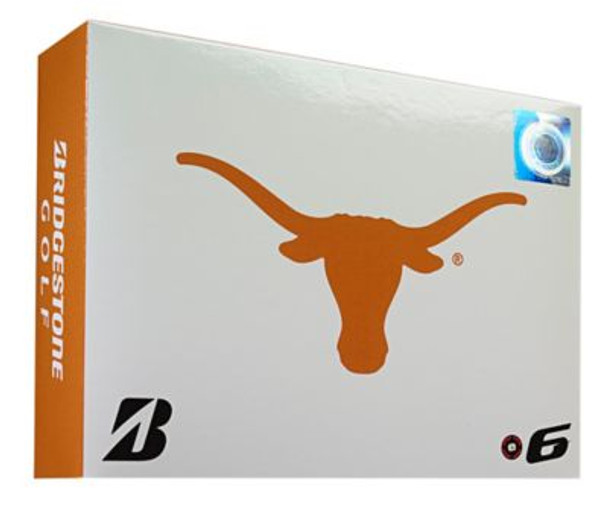 NCAA e6 Texas Longhorns Golf Balls - 1 Dozen-4036309