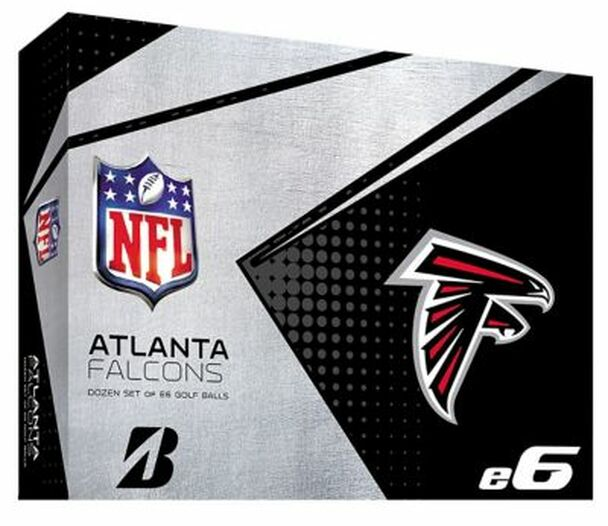 NFL e6 Atlanta Falcons Golf Balls - 1 Dozen-4036311