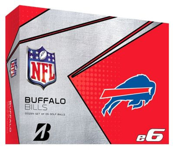 NFL e6 Buffalo Bills Golf Balls - 1 Dozen-4036313