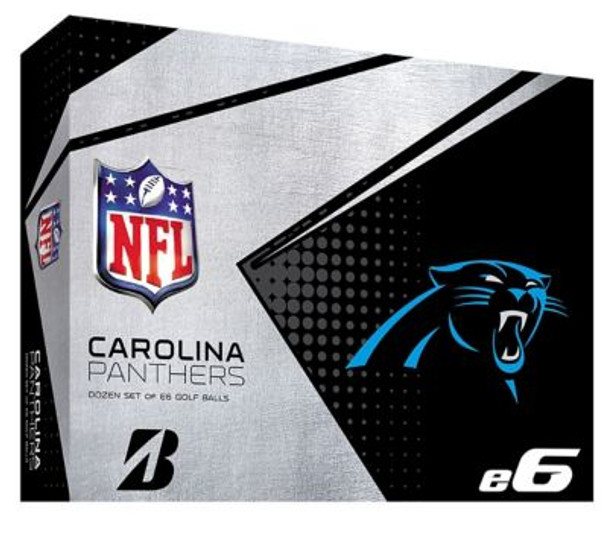 NFL e6 Carolina Panthers Golf Balls - 1 Dozen-4036314