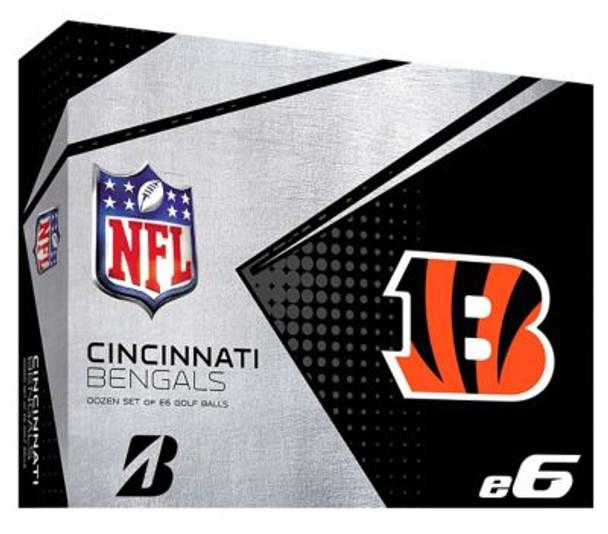 NFL e6 Cincinnati Bengals Golf Balls - 1 Dozen-4036316
