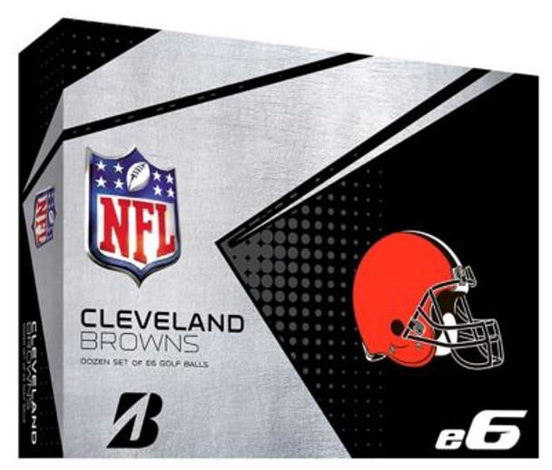NFL e6 Cleveland Browns Golf Balls - 1 Dozen-4036317