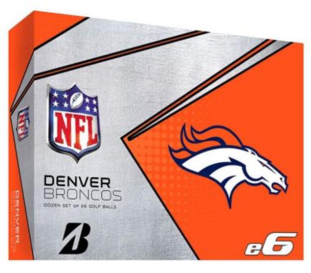 NFL e6 Denver Broncos Golf Balls - 1 Dozen-4036319