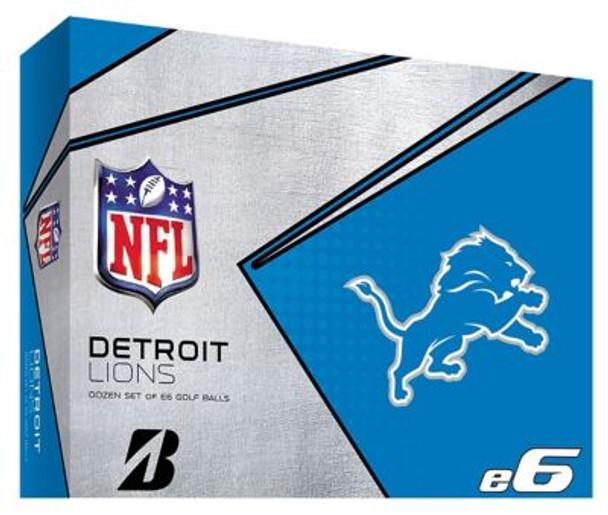 NFL e6 Detroit Lions Golf Balls - 1 Dozen-4036320