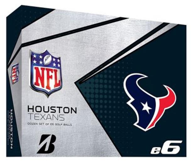 NFL e6 Houston Texans Golf Balls - 1 Dozen-4036322