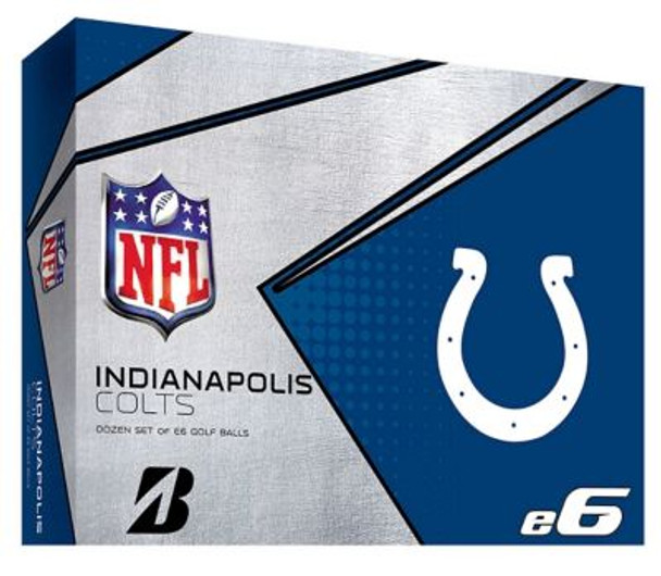 NFL e6 Indianapolis Colts Golf Balls - 1 Dozen-4036323