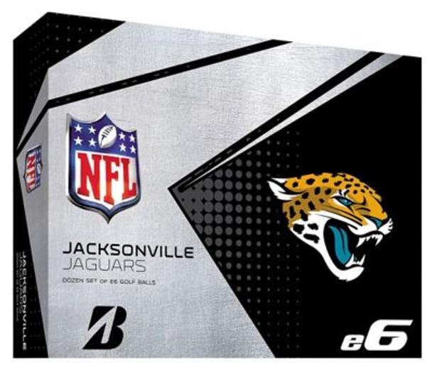 NFL e6 Jacksonville Jaguars Golf Balls - 1 Dozen-4036324