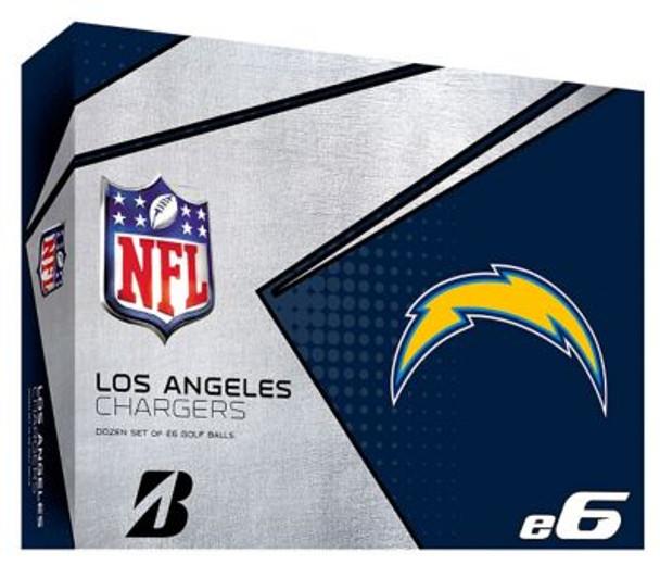 NFL e6 LA Chargers Golf Balls - 1 Dozen-4036326