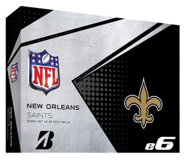 NFL e6 New Orleans Saints Golf Balls - 1 Dozen-4036331