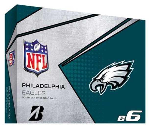 NFL e6 Philadelphia Eagles Golf Balls - 1 Dozen-4036335