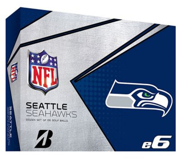 NFL e6 Seattle Seahawks Golf Balls - 1 Dozen-4036338
