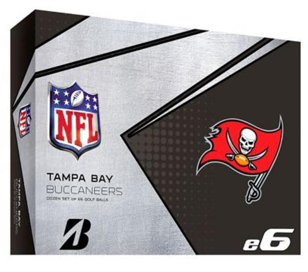 NFL e6 Tampa Bay Buccaneers Golf Balls - 1 Dozen-4036339