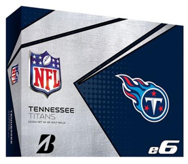 NFL e6 Tennessee Titans Golf Balls - 1 Dozen-4036340