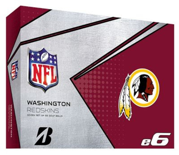NFL e6 Washington Redskins Golf Balls - 1 Dozen-4036341