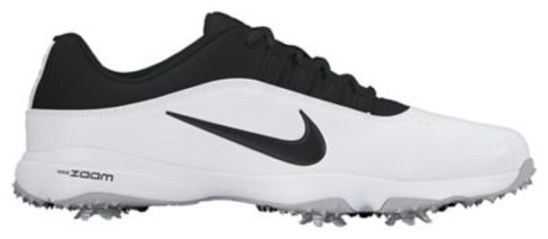 Air Zoom Rival 5 Men's Wide Golf Shoes - White/Black-4036397