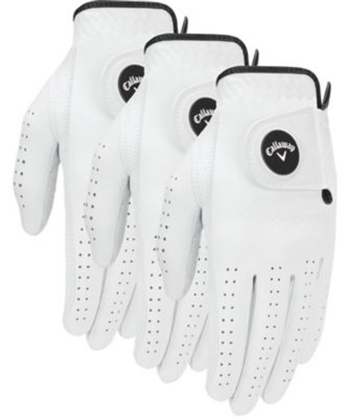 Optiflex Men's Ball Marker Golf Glove (3-Pack)-4036469