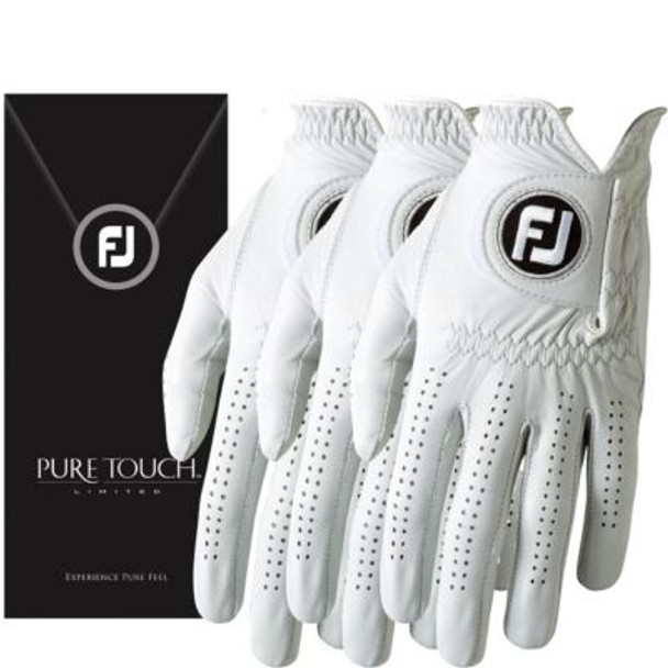 Pure Touch Limited Men's Golf Gloves (3-Pack)-4036567
