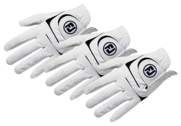 WeatherSof Men's Golf Gloves (3-Pack)-4036568