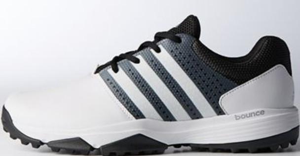 360 Traxion Men's Golf Shoes - White/Black-4036610