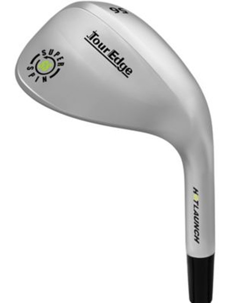 Hot Launch 3 Super Spin Chrome Wedge - Steel Shaft-4036621