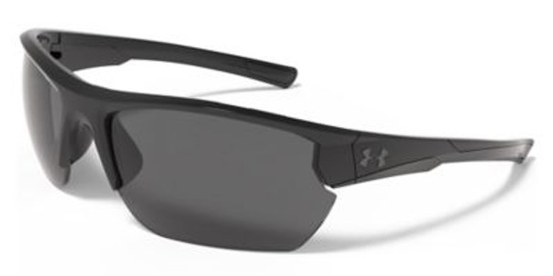 UA Propel Sunglasses - Shiny Black/Black-4036715