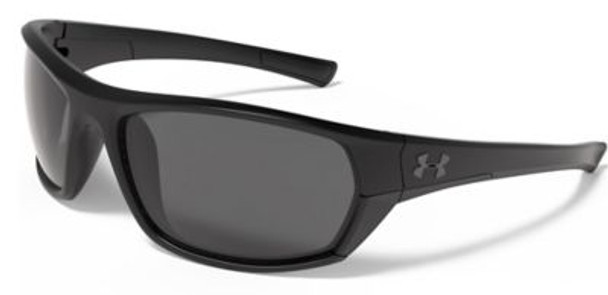 UA Powerbrake Sunglasses - Satin Black/Black-4036721
