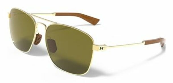 UA Rally Sunglasses - Shiny Gold/Brown-4036724