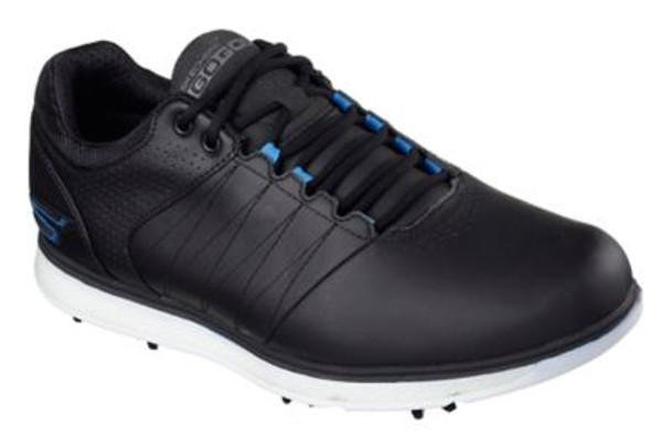 Go Golf Pro 2 Men's Golf Shoes - Black/Blue-4036750