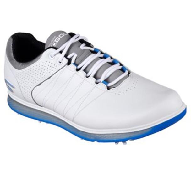Go Golf Pro 2 Men's Golf Shoes - White/Blue-4036751