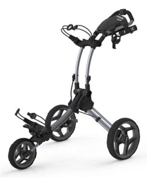 Rovic RV1C Golf Push Cart - Silver-4036774