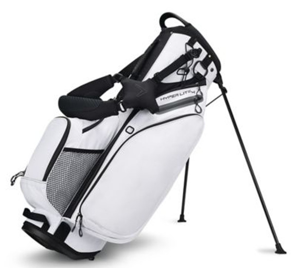 Hyper-Lite 4 Stand Golf Bag - White/Titanium/Black-4036798