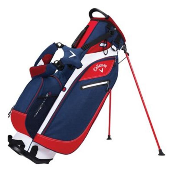 Hyper-Lite 3 Stand Golf Bag - Navy/Red/White-4036802