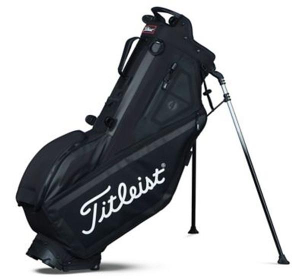 Players 4 Stand Golf Bag - Black-4036806