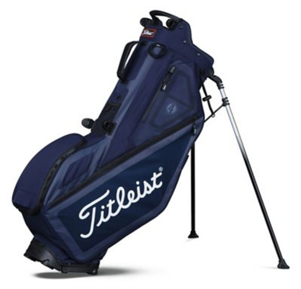 Players 4 Stand Golf Bag - Navy-4036809