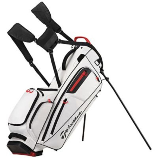 Flextech Stand Golf Bag - White-4036818